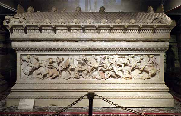 Alexander the Great sarcophagus