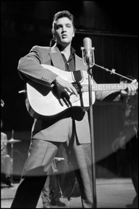 Elvis Presley at Dorsey Brother's stage show