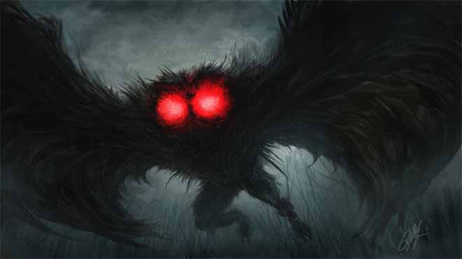 Mothman creature